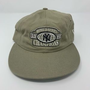 Vintage New York Yankees World Series Strapback